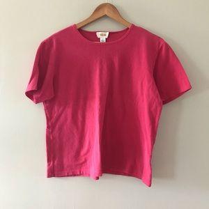 🛍 Talbots red tshirt